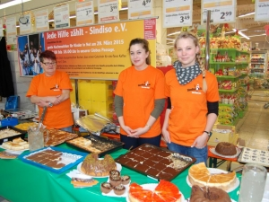 Kuchenverkaufsaktion 2015