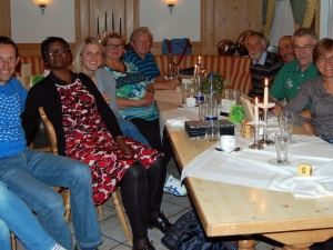 Mary Oloo zu Besuch in Neutraubling