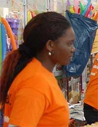 Jackline Awuorn, Krankenschwesterschülerin